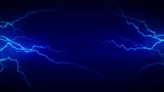 4K Electricity Blue Front Stock Footage
