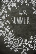 Summer pattern Kuvituskuvat