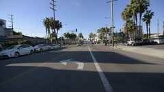 Driving Plates Multi Angle Venice 10 CAM1 Front California 60fps Stock Footage