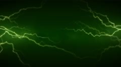 4K Electricity Green Front Stock Footage