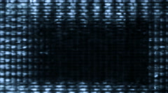 TV screen pixels fluctuate with video motion - TV Noise 1031 HD, 4K Stock Footage