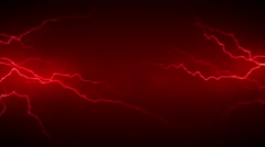 4K Electricity Red Front Stock Footage
