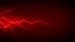 4K Electricity Red Side Stock Footage