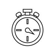 Chronometer icon. Time design. Vector graphic Stock Illustration