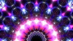 Psy kaleidoscope visual - stock footage