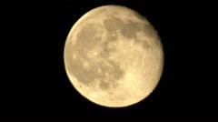 Fullmoon Telescope Shot 06 4K - stock footage