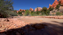 Bryce Canyon Creek near mossy Cave Trail Stock Footage