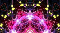 Extreme kaleidoscope moving - stock footage