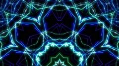 Laser show kaleidoscope Arkistovideo