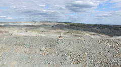 Minerals and Mining -Timmins Ontario Aerial Stock Footage