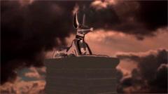 Gods of Egypt - Anubis Stock Footage