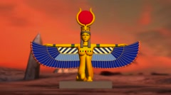 Gods of Egypt - The Goddess Isis Stock Footage