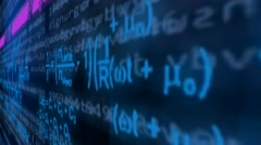 Right view - ulta dimension -  coding message - lines of data - information - - stock footage