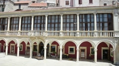 Sibenik Town Hall, Sibenik, Croatia Stock Footage