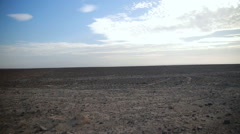 Nazca desert with the rocks Stock Footage
