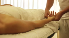 Swedish Massage Therapy - stock footage