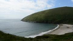 Keem Bay, Achill Island, Mayo, Connacht, Ireland Stock Footage