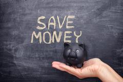 Save Money concept Stock Photos