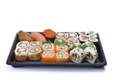 Assortment sushi Stock Photos