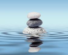 Zen stones balance concept Stock Illustration