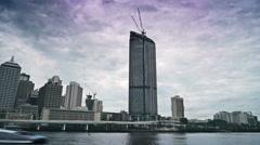 BRISBANE, AUSTRALIA - Timelapse Brisbane City Stock Footage