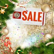 After Christmas Sale. EPS 10 - stock illustration