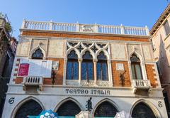 beautiful Teatro Italia in Venice - VENICE, ITALY - JUNE 30, 2016 - stock photo