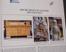 Scaliger Tombs in Verona - Arche scaligere - VERONA, ITALY - JUNE 30, 2016 - stock photo