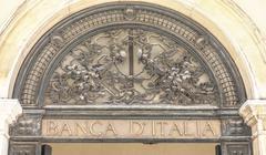 Banca d Italia in Venice - VENICE, ITALY - JUNE 29, 2016 - stock photo