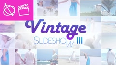 Vintage Slideshow III - Apple Motion and Final Cut Pro X Template Stock After Effects