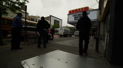 Apollo Theater Harlem Time Lapse Stock Footage