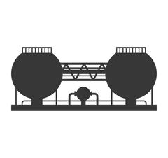 Plant building icon. Industry design. Vector graphic Stock Illustration
