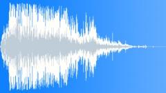 Large projectile impact crash 01 Sound Effect