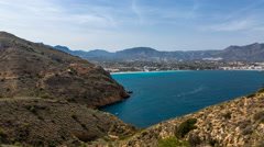 Albir Lighthouse, Benidorm Alicante 4K  Stock Footage