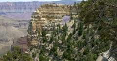 Angel's Window Grand Canyon North Rim Stock Footage