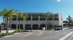 City Hall - Laguna Woods CA Zoom Stock Footage