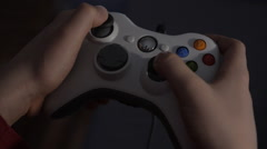 Xbox Controller 25 fps - stock footage
