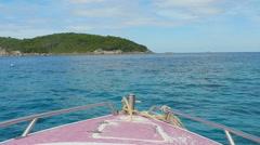 Similan Islands seascape Stock Footage