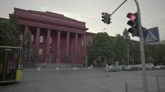 City views of Kiev (Kyiv) . The Building Of The Kiev National University. Stock Footage