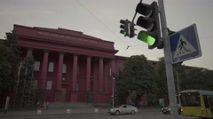 Kiev. Ukraine. National University named after Taras Shevchenko. Stock Footage