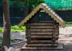 Log-hut Stock Photos