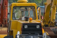 Tractor Cab - stock photo