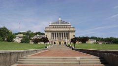 Soldiers & Sailors Memorial Hall & Museum in Pittsburgh Stock Footage
