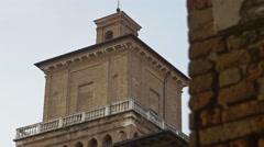 Italian renaissance castle Stock Footage