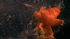 Orange Explosion Stock Footage