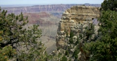 Angel's Window Grand Canyon North Rim - stock footage