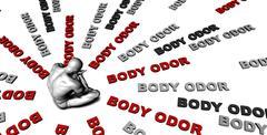 Body odor Stock Illustration