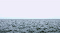 Water front open ocean long island New York Stock Footage