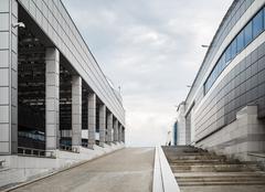 Minsk-Arena - modern buildings Stock Photos