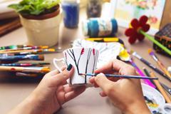 Hand craft Stock Photos
